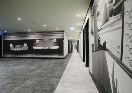Hotel Bodenbelag Betonoptik Fussboden