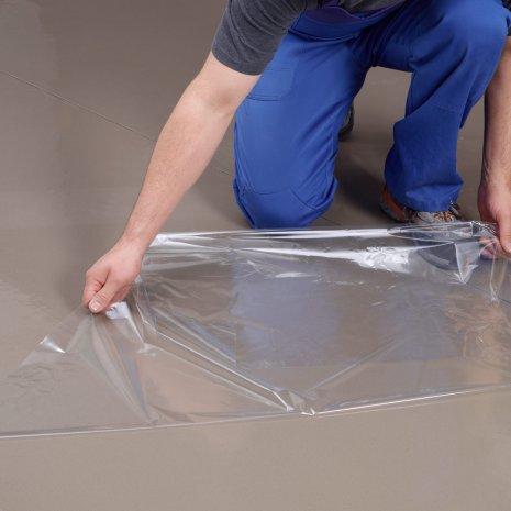 wineo Designboden Verlegetechnik Unterlagsmatte mit Klebefolie
