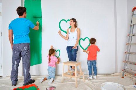 wineo PURLINE Bioboden Verlegung Renovierung Wohnung Familie