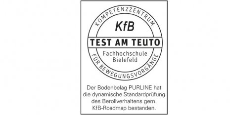 Qualitätsversprechen PURLINE Bioboden KFB Logo