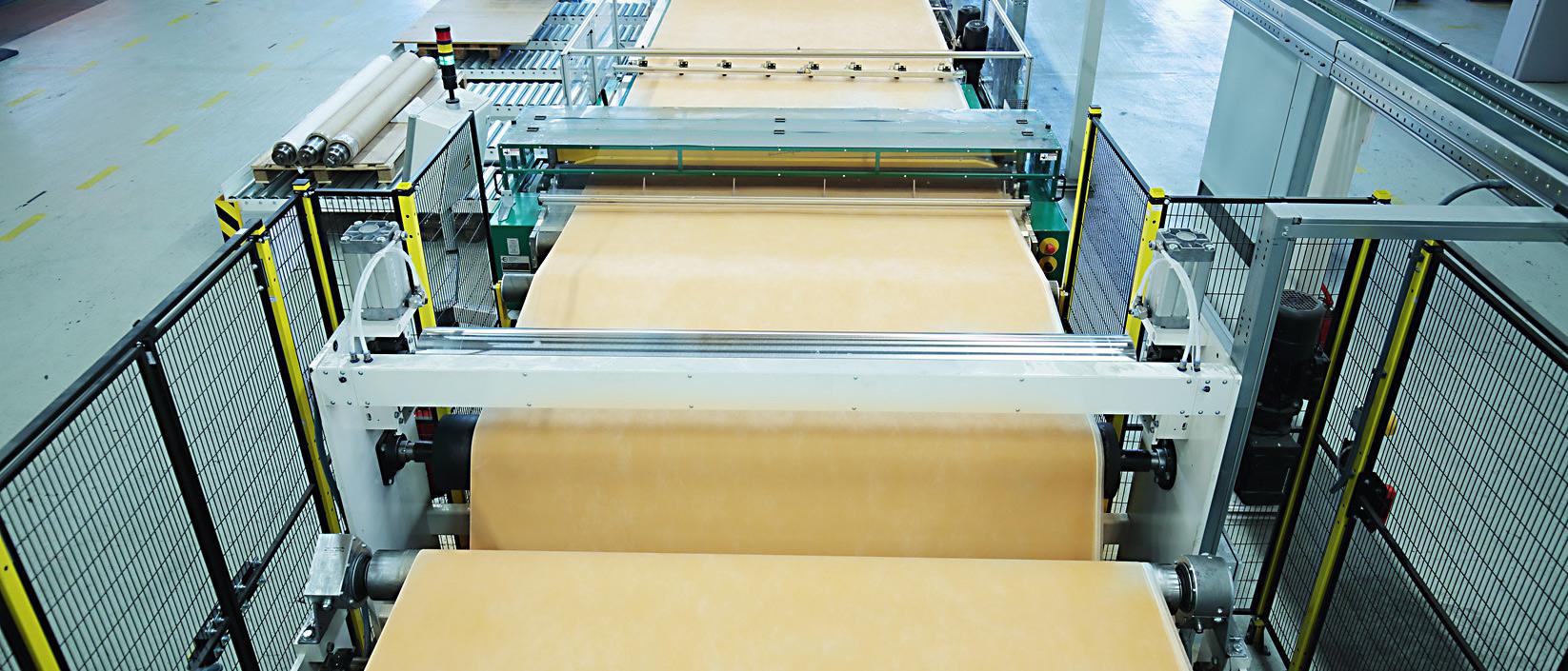 Produktion Maschinenstraße