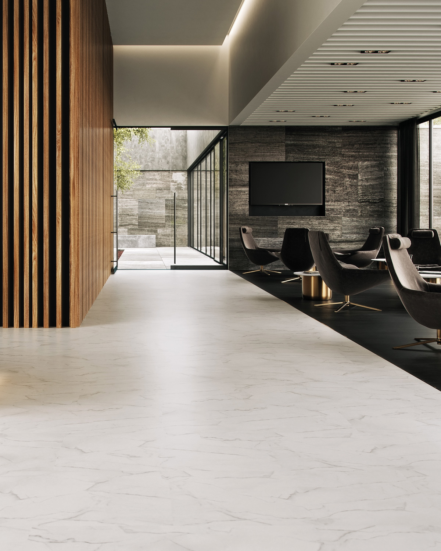 PURLINE Bioboden Hotellobby modern