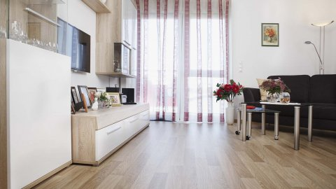 wineo Bodenbelag Holzoptik Wohnbereich