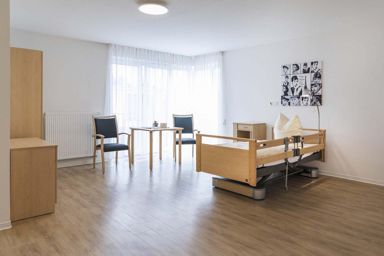 wineo Designboden Schlafzimmer Holzoptik