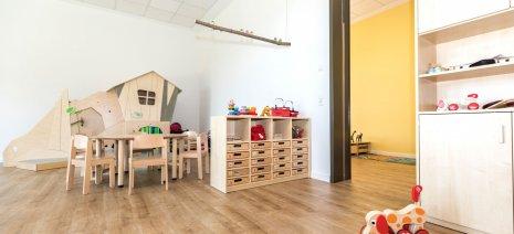 wineo PURLINE Bioboden Kita Schule Spielzimmer Holzoptik hell