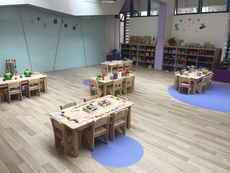 wineo Bodenbelag Kindergarten Kita